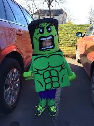 lego hulk costume homemade costumes rock halloween fun