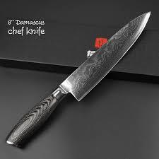 kitchen knive damascus steel knife set 5 piece black edition kitchen