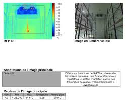 chambre froide isolation contrôle thermographique de chambre froide qualidetec