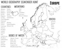 world geography scavenger hunt asia free printable startsateight