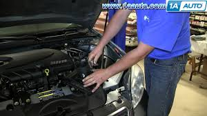how to install replace mass air flow sensor 2006 08 chevy impala