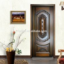 new fashion safety wooden door designs classic main wooden door