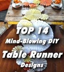 diy table runner ideas diy table runner paper table runner lifestyle diy table runners