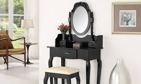 Tesco Vanity Table Rose Ella Or Rosa Dressing Table Groupon Goods