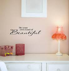 Marilyn Monroe Wall Decor Be Your Own Kind Of Beautiful Marilyn Monroe Quotes Wall Decals