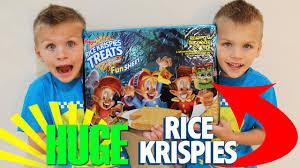 world u0027s largest rice krispie treat halloween edition youtube