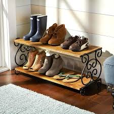 scroll shoe rack pier 1 imports