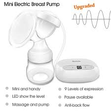 bimirth portable mini dual 2 in 1 electric manual breast pump