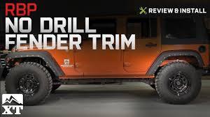 jeep wrangler rubicon logo jeep wrangler 2007 2017 jk rbp no drill fender trim w rbp logo