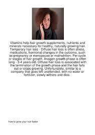 vitamins help hair growth supplements nutrients a109