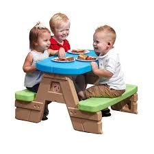 step 2 folding picnic table sale step2 fun fold jr picnic table kids table toys child