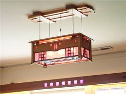 mackintosh ceiling light stained glass arts and crafts lighting led