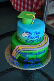 places you go cake 09 for the high graduation when i