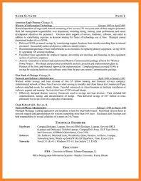 server resume examples bio resume samples