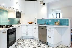 cuisine turquoise peinture cuisine bleu best peinture cuisine bleu canard ideas 2017
