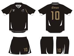 desain baju kaos hitam polos desain kaos futsal yang simpel dan keren rad jersey