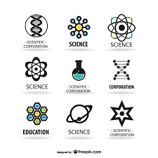 science logos template vector free download