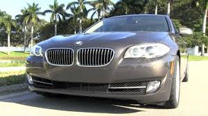 2011 bmw 535i 6 speed manual havana metallic autos of palm beach