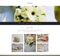 wedding planning websites website template 58415 wedding planner planning custom website