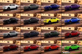 Dodge Challenger Colors - color color color srt hellcat forum
