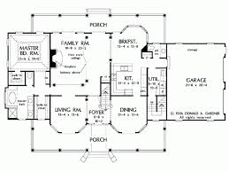 farmhouse floor plan eplans farmhouse house plan just the right amount 3163 square