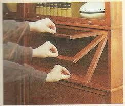 Barrister Bookshelves by Natures Business Shelves