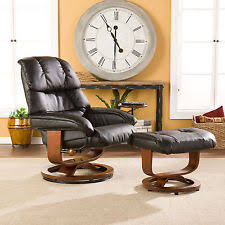 recliner with ottoman chairs ebay