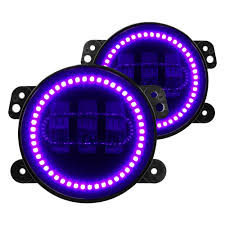 oracle lighting 5775 007 high powered uv purple led fog lights