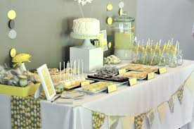 yellow and gray baby shower decorations boy baby shower themes baby shower decoration ideas