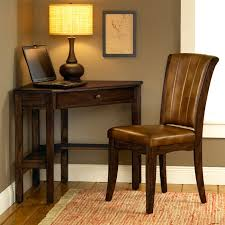 Corner Desk Cherry Wood Solano Wooden Corner Desk And Chair Set In Cherry Dcg Stores