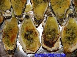 comment cuisiner des huitres huitres chaudes gratinees au beurre persille aux saveurs du