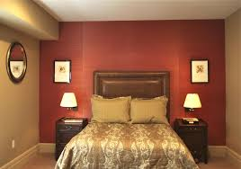 bedroom color red