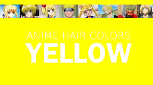 Red Color Meaning Hair Color In Anime Characters Yellow Meaning U0026 Psychology Youtube