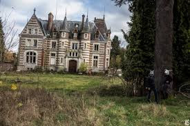 Beautiful Abandoned Places by Ils Sont Devant Le Château Lamare Castle In The Norman