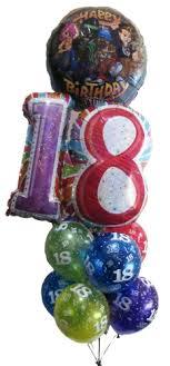 singing birthday balloons 18th birthday balloons helium balloons perth 18 birthday