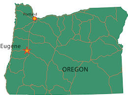 map of oregon eugene how to get here admissions