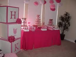 pink and purple baby shower