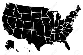 us vector map high detailed vector map united states royalty free cliparts