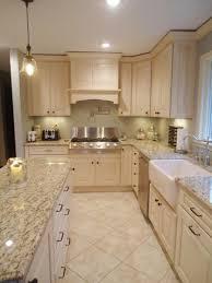 Cream Colored Kitchen Cabinets granite counters with cream colored cabinets your local kitchen