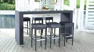 table haute avec tabouret pour cuisine table luxury table bar avec tabouret cuisine haute de jardin pour