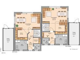 toddler floor plan kern haus doppelhaushälfte twin l grundriss erdgeschoss mimari