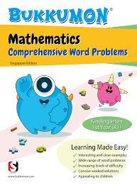 bukkumon mathematics comprehensive word problems for kindergarten