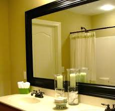 Bathroom Mirror Frames Kits Cheap Bathroom Mirrors Bathroom Bathroom Mirror Cabinet Vanity And
