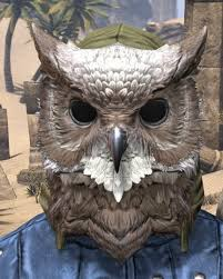 owl mask eso fashion jhunal s owl mask