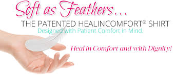 Comfort Design Breast Cancer Recovery Shirts Healincomfort