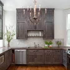 how do you stain kitchen cabinets black stained kitchen cabinets donatz info