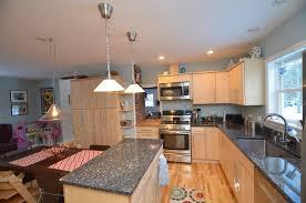 blue maple cabinets kitchen maple kitchen cabinets blue pearl granite maple