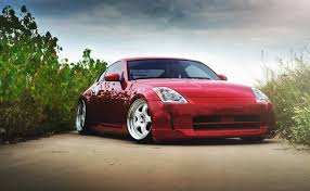 red nissan 350z nissan 350z red stance nissan red to hd wallpaper