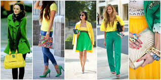 Colour Combination With Green Fashion Designing Guide To Optimal Colour Combinations For Attires