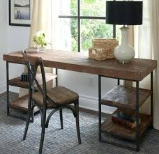 Rustic Office Desk Rustic Office Furniture Desks Combtion Dustril Morell Combes